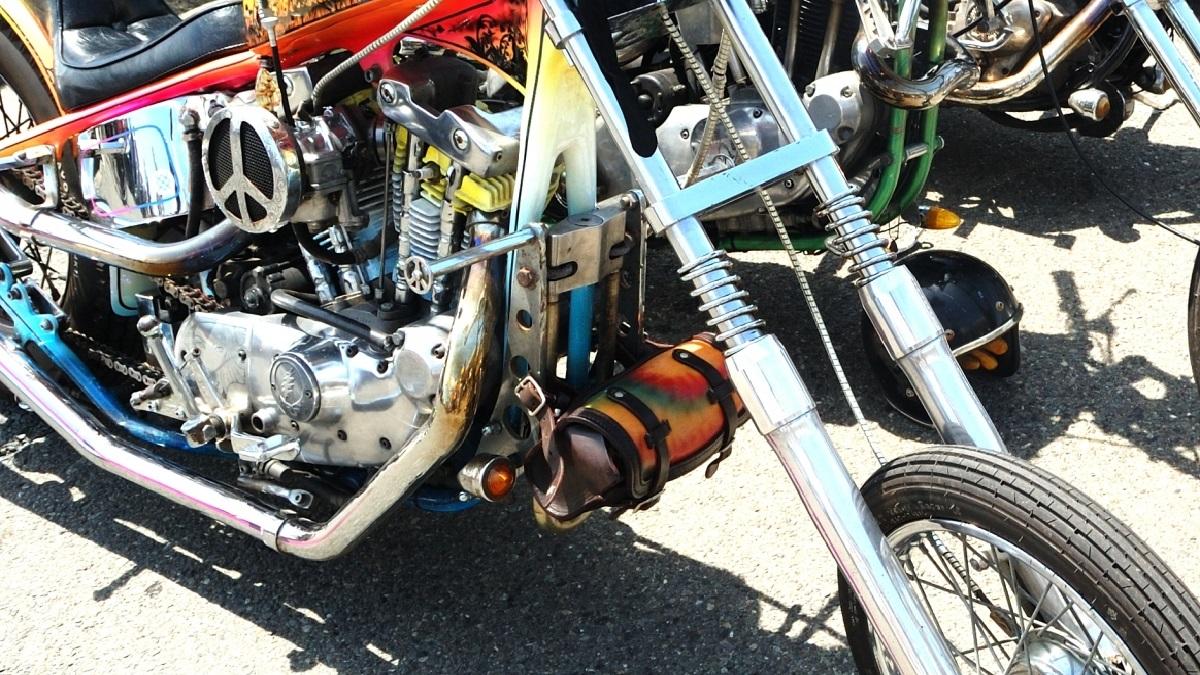 カスタムバイクの画像