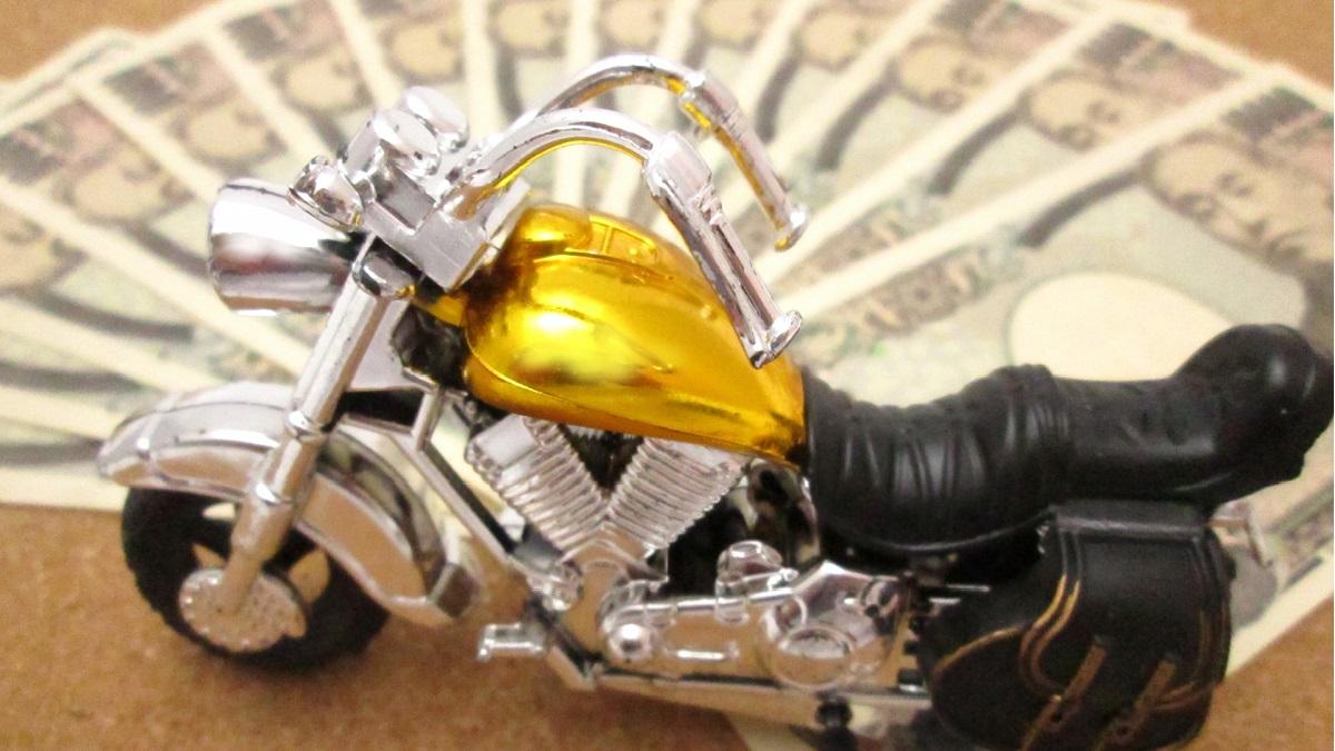 バイクを売るイメージ画像