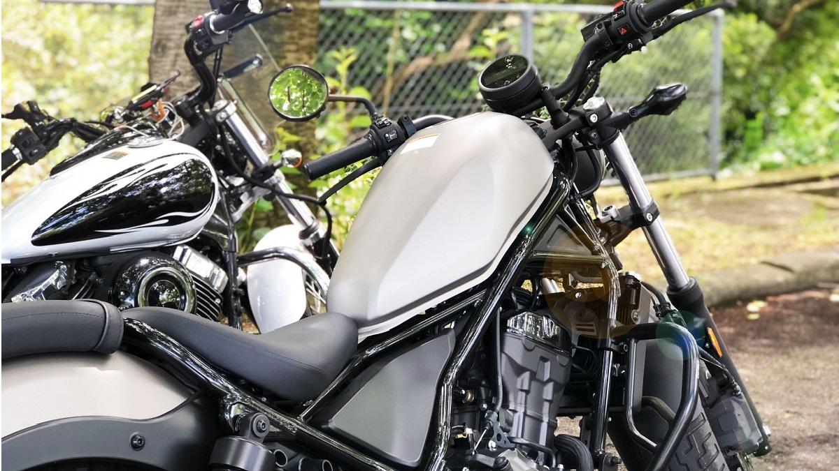 中型バイクのイメージ