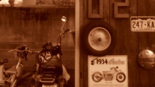 バイクの保管