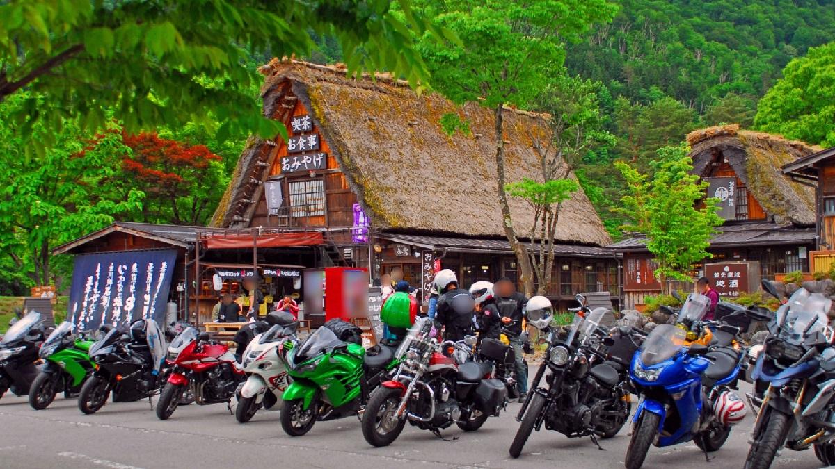 色々なバイクのタイプ