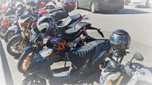 バイクが多い道の駅針テラス