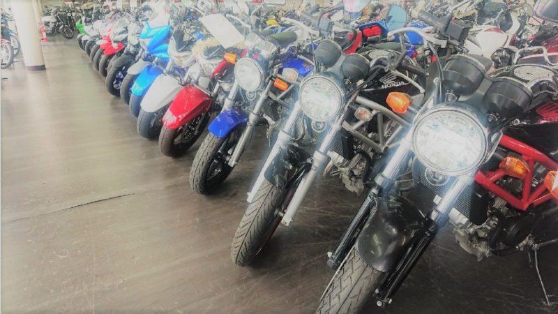 行きつけのバイクショップ