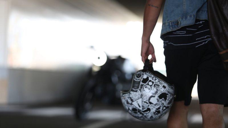 ヘルメットの寿命は衝撃を受けたら