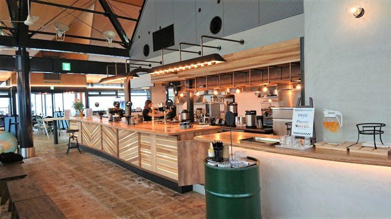 バイカーズパラダイスのカフェ