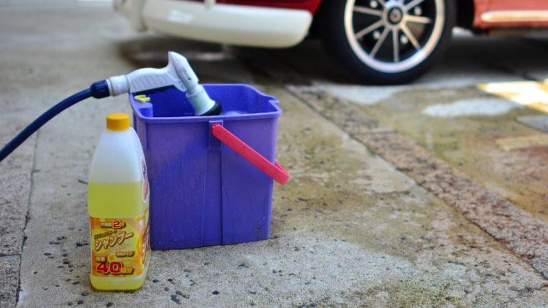 バイクの洗車の方法と手順