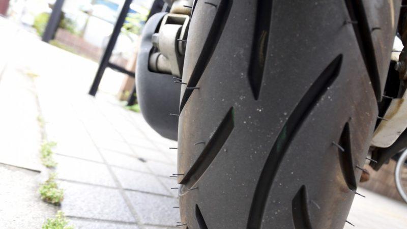 タイヤの皮むきの具体的な方法