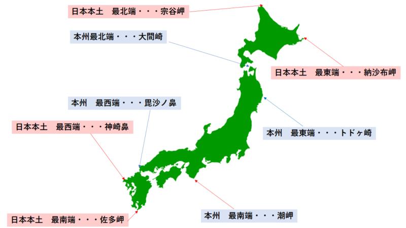 日本本土四極証明書と本州四極証明書の違い