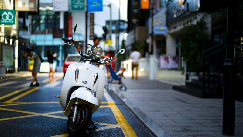 原付は排気量が125㏄以下のバイクのこと