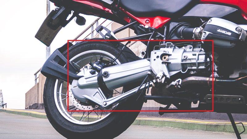 バイクのシャフトドライブとは何?