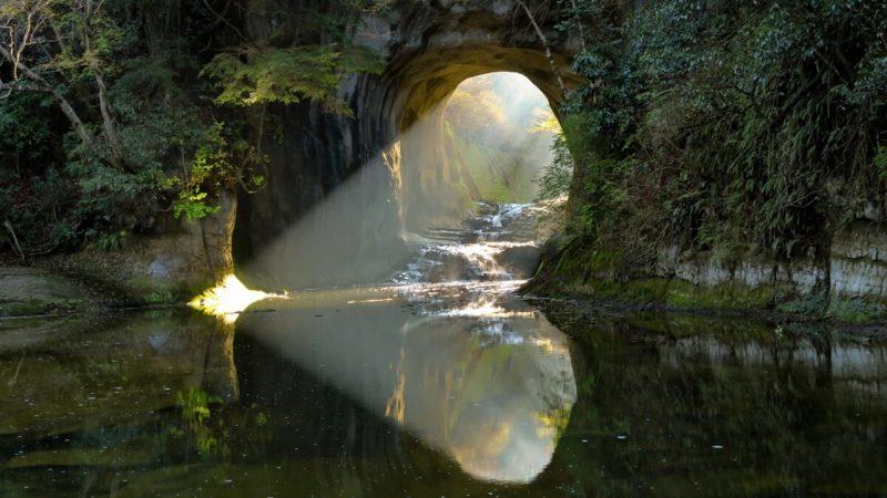 濃溝の滝/亀岩の洞窟